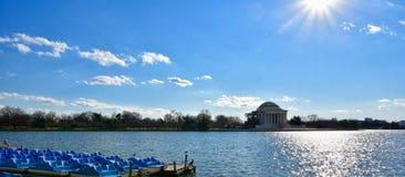 jefferson μνημείο Washington DC, ΗΠΑ Στοκ εικόνες με δικαίωμα ελεύθερης χρήσης