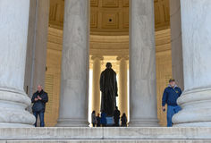 jefferson μνημείο Washington DC, ΗΠΑ Στοκ φωτογραφίες με δικαίωμα ελεύθερης χρήσης