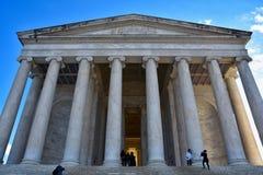 jefferson μνημείο Washington DC, ΗΠΑ Στοκ Εικόνα