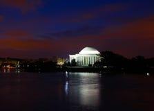 Jefferson мемориальное Вашингтон, DC Стоковые Изображения RF