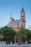 Jefferson-Bibliothek, NYC stockfoto