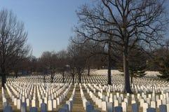 Jefferson chahute le cimetière militaire Image libre de droits