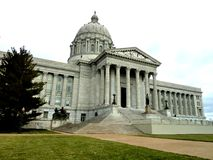 Jefferson City Capitol Building fotografie stock