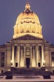 Jefferson City, Missouri - edificio del capitolio del estado Imágenes de archivo libres de regalías