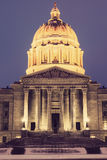 Jefferson City, Missouri - stanu Capitol budynek obrazy royalty free