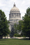 Jefferson City, Missouri - State Capitol Stock Photography