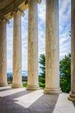 Jefferson Columns Lizenzfreie Stockfotografie