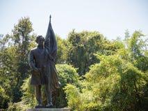 Jefferson Davis Confederate Monument Fotografía de archivo libre de regalías
