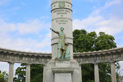 Jefferson Davis Monument Closeup 2, Richmond, Virginia fotografía de archivo libre de regalías