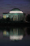 Jefferson-Denkmal Lizenzfreie Stockfotos