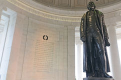 Jefferson-Denkmal Stockfotos