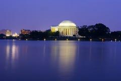 Jefferson-Denkmal Stockbilder