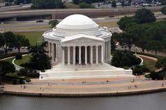 Jefferson-Denkmal stockfotos