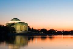 Jefferson-Denkmal, Washington DC. Stockbild