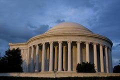 Jefferson-Denkmal in Washington, Gleichstrom Stockfotografie