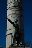 Jefferson F Davis Monument Stock Afbeeldingen