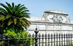 Jefferson Fire Company坟茔在拉斐特公墓,新奥尔良 免版税库存照片