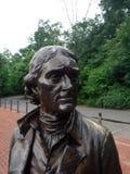Jefferson i brons Royaltyfri Foto