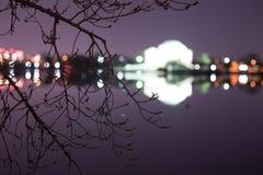 Jefferson Memorial à l'arrière-plan Images stock