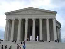 Jefferson Memorial. In Washington DC stock image