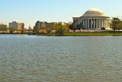 Jefferson memorial Royalty Free Stock Photos