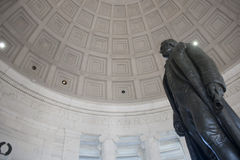 Jefferson Memorial. The Thomas Jefferson Memorial, modeled after the Pantheon of Rome, is America's foremost memorial to our third president. As an original Royalty Free Stock Images
