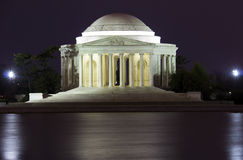 Jefferson Memorial Imagem de Stock Royalty Free