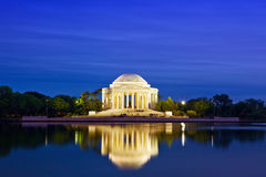 Jefferson Memorial Stock Foto's