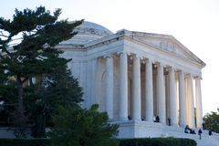 Jefferson Memorial Imagem de Stock