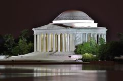 Jefferson Memorial Lizenzfreie Stockbilder