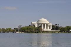 Jefferson Memorial fotografia stock