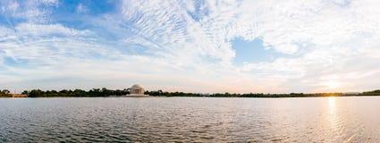 Jefferson Memorial Royalty-vrije Stock Foto