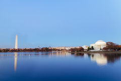 Jefferson Memorial Royalty-vrije Stock Afbeeldingen