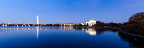 Jefferson Memorial Stock Afbeeldingen