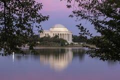 Jefferson Memorial Arkivfoton