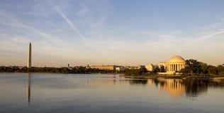 Jefferson Memorial Fotografering för Bildbyråer