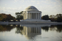 Jefferson Memorial in Autumn. Stock Photos