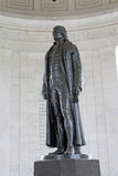 Jefferson Memorial Bronze Statue in Washington DC Royalty Free Stock Photography