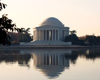 Jefferson Memorial - Cherry Blossom Festival royalty free stock photography