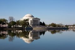 Jefferson Memorial Cherry Blossom Festival Stock Photos