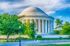 Jefferson Memorial dans le Washington DC Photo stock