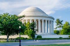 Jefferson Memorial dans le Washington DC Images stock