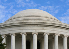 Jefferson Memorial Dome Royalty Free Stock Image