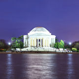 The Jefferson Memorial at dusk, Washington DC, USA Royalty Free Stock Image