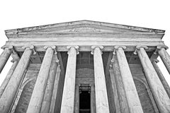 Jefferson Memorial Exterior Royalty Free Stock Photography
