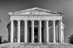 Jefferson Memorial i Washington DC Arkivfoton
