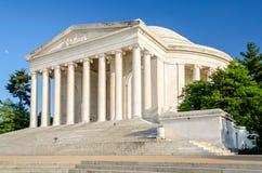 Jefferson Memorial i Washington DC Royaltyfria Foton