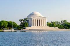 Jefferson Memorial i Washington DC Fotografering för Bildbyråer