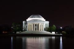 Jefferson Memorial at Night Royalty Free Stock Image