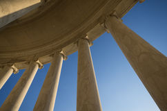 Jefferson Memorial no Washington DC Imagens de Stock Royalty Free